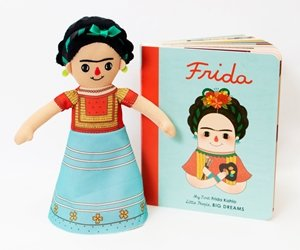 Frida Kahlo Doll and Book Gift Set – Little People, Big Dreams